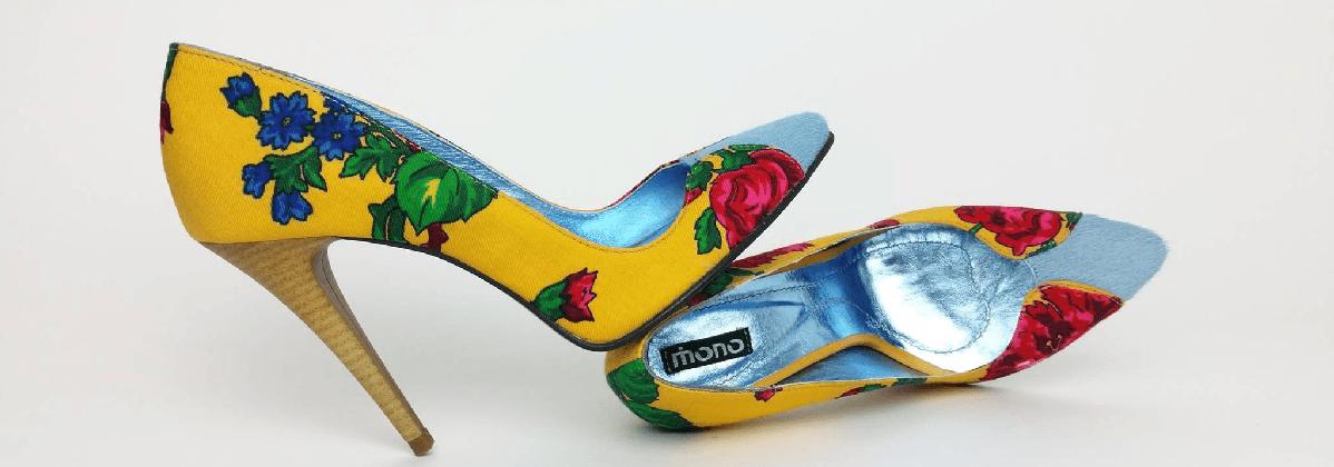 pantofi cu toc etno