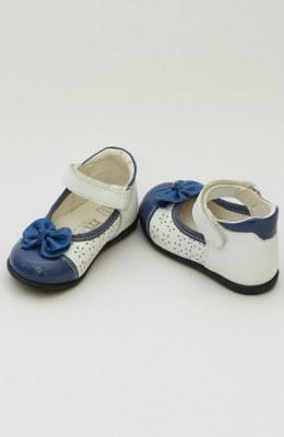 Balerini fete albastri cu alb MEL034