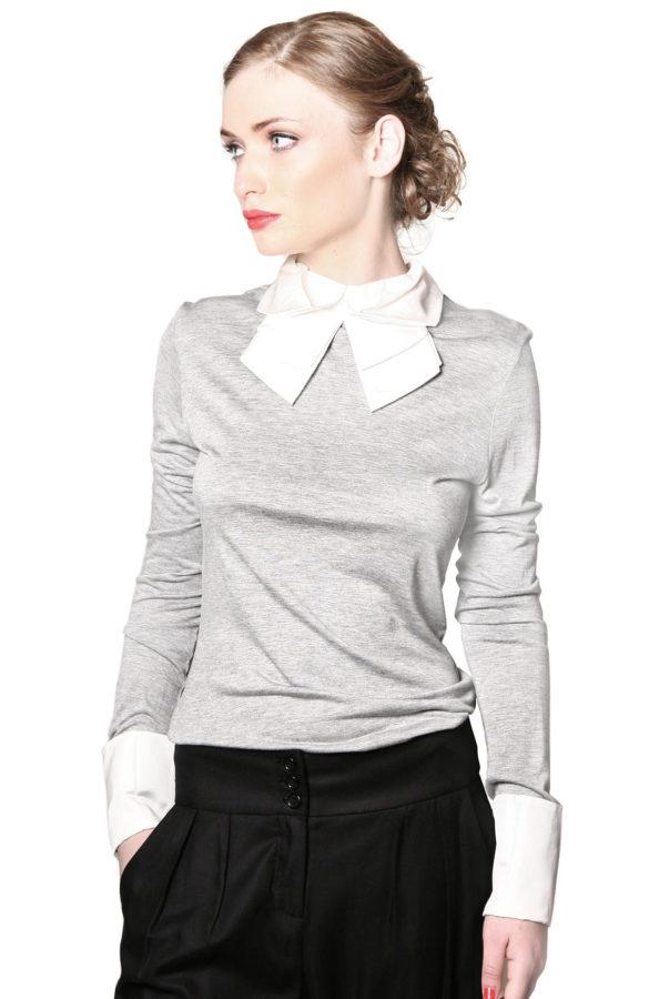 Bluza office cu mansete 1