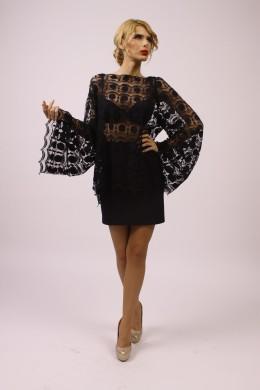 Bluza neagra dama OS011