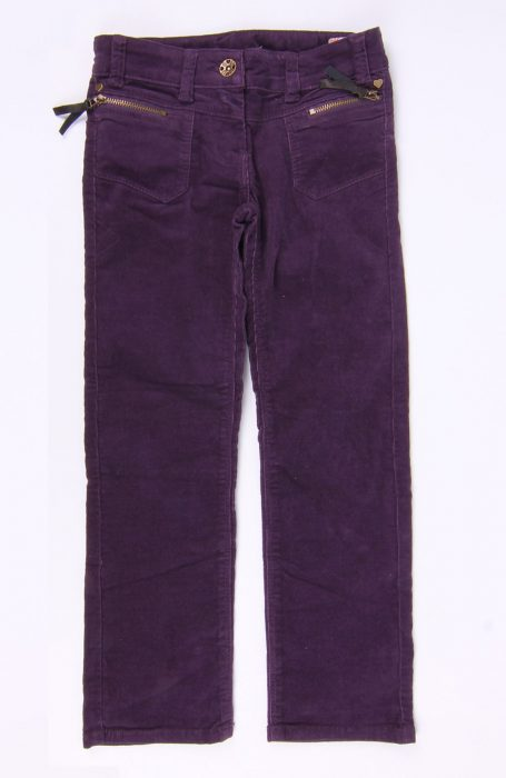 Pantaloni copii mov