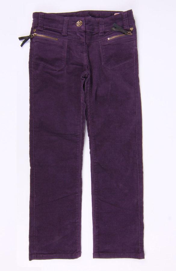 Pantaloni copii mov 1
