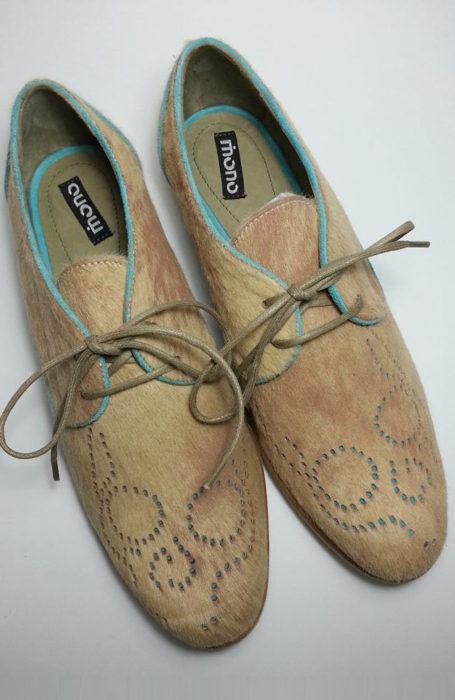 Pantofi dama fara toc Oxford