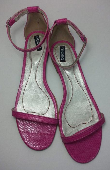 Pantofi fara toc pink passion