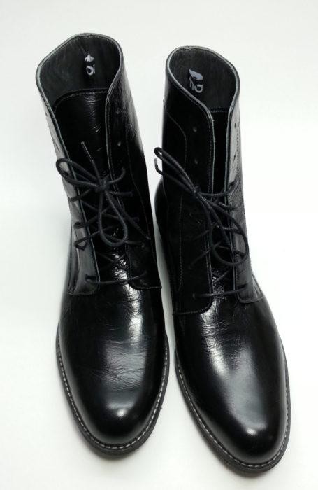 Pantofi piele cu siret - Ghete