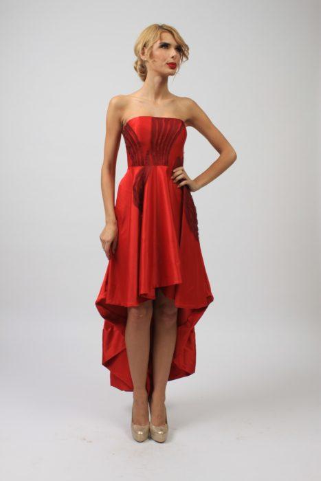 Rochie de ocazie rosie LC004