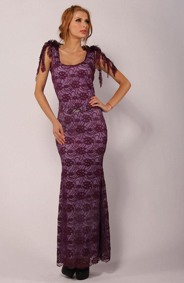 Rochie eleganta lunga tip sirena 1
