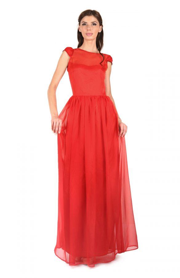Rochie lunga rosie 1
