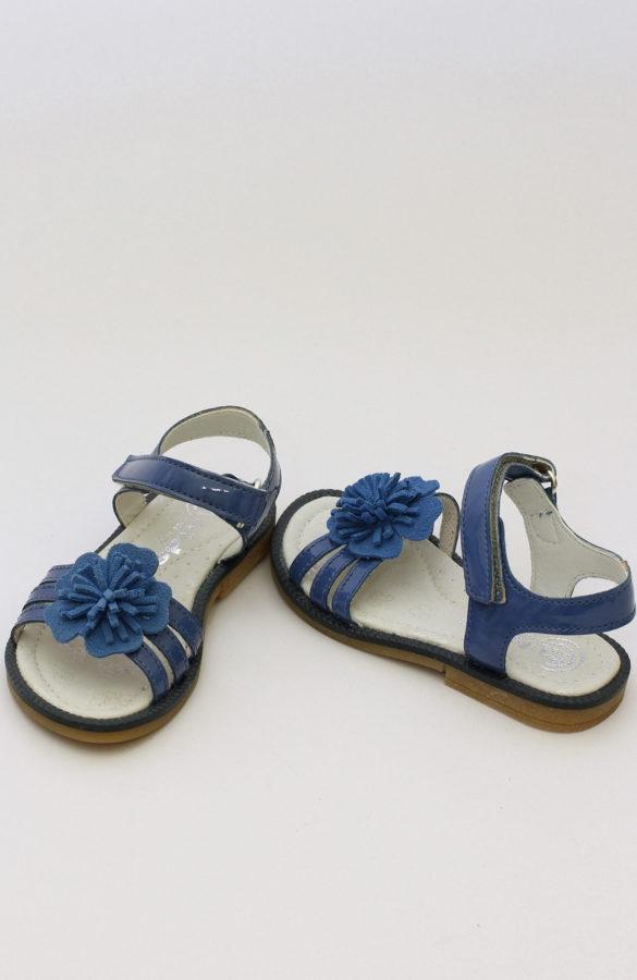 Sandale fete albastre  1
