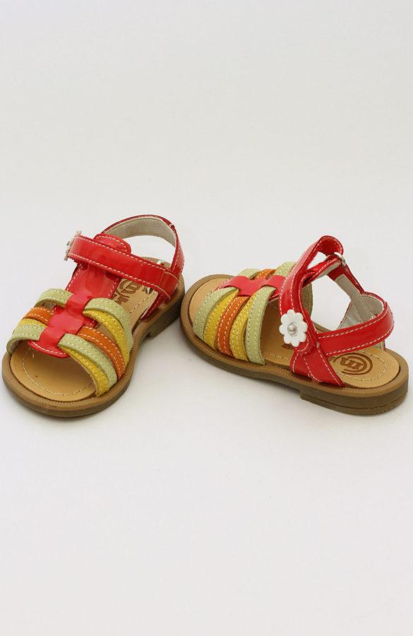 Sandale fete colorate 1