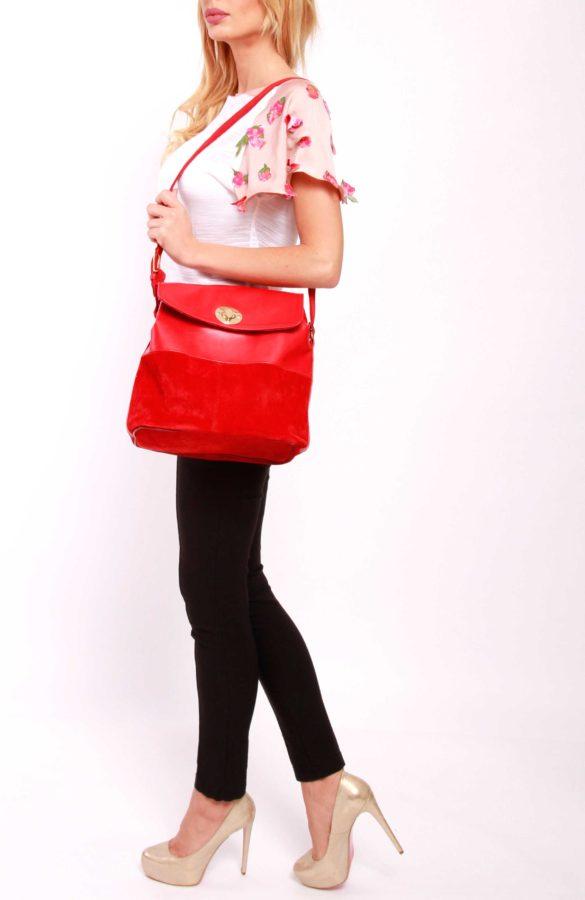 Geanta-piele-rosie-CR079