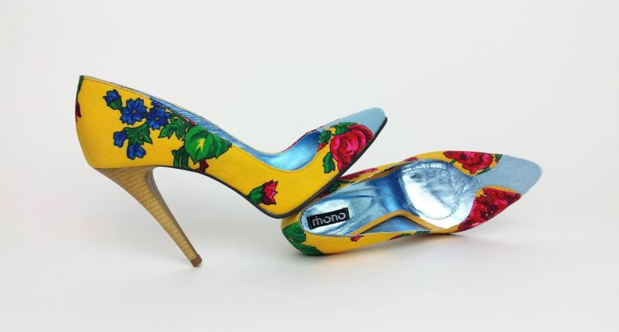 Pantofi dama cu toc Traditional