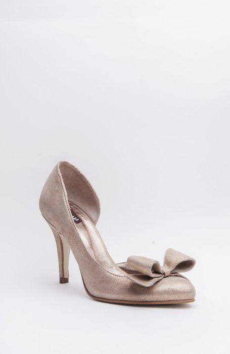 Pantofi mireasa cu funda