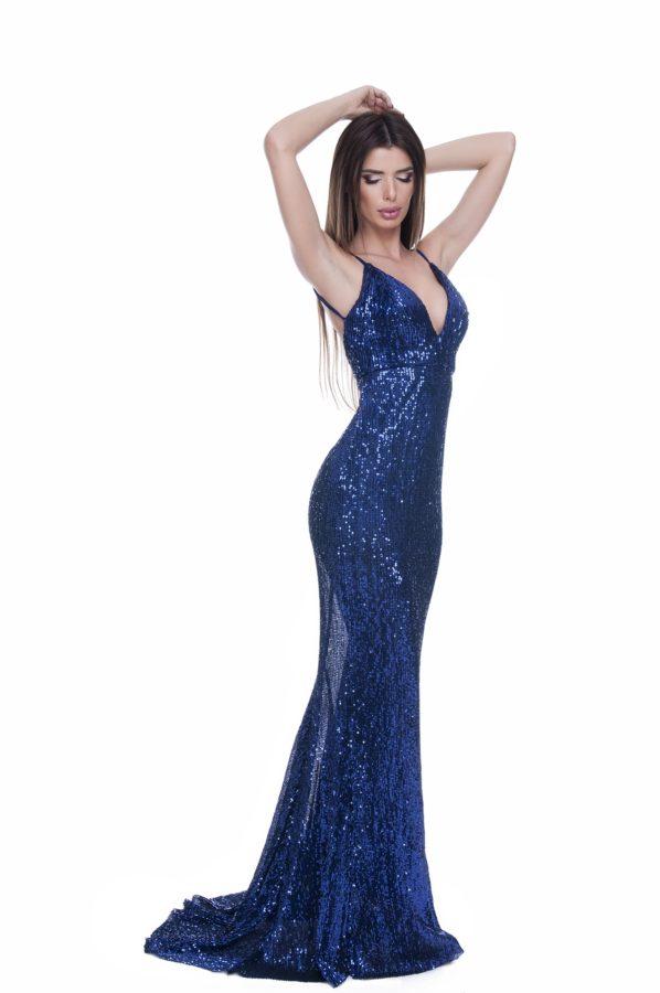 rochie-paiete-lunga-albastra (4)