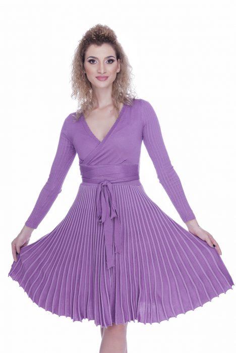 Rochie eleganta de zi tricotata Gya