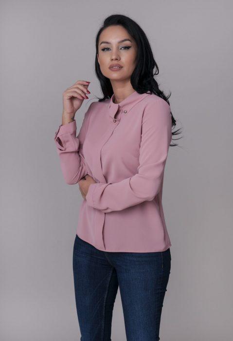 Camasi dama elegante roz pentru tinute chic de la Myfashionizer