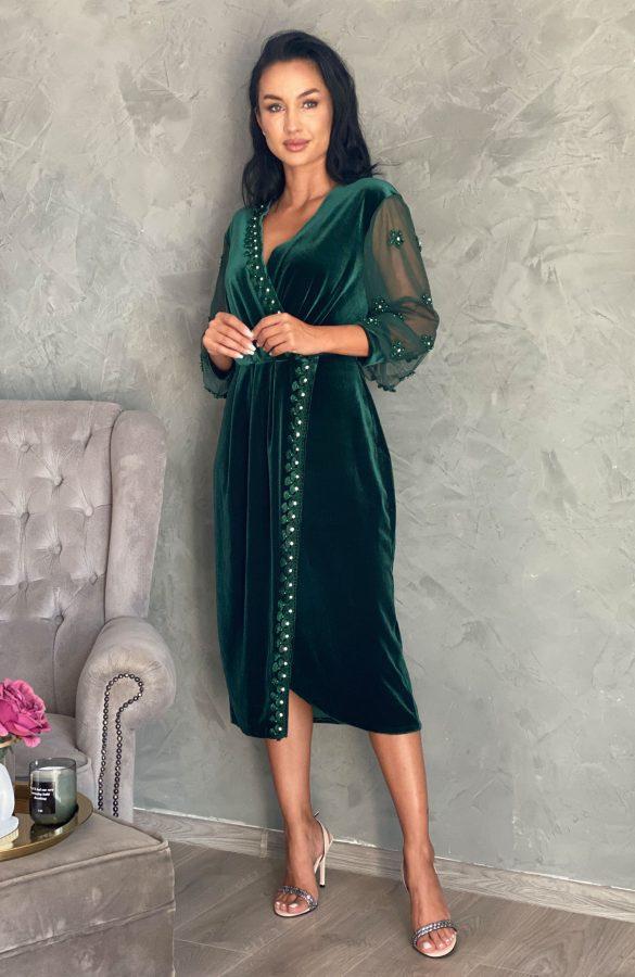 rochie-de-ocazie-din-catifea-verde-cu-aplicatii-5